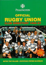 1996-97 - Pilkington Official Rugby Union Club Directory