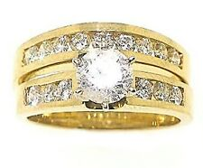 1.88ct Round Diamond Ring 14k Yellow Goldf=