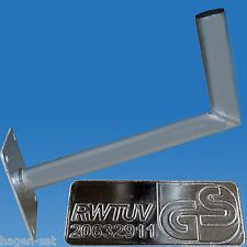 Wandhalter Alu 45 cm �˜ 50 mm Sat Antennen ALU Halter Wandhalterung T�œV Profi HQ