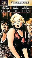 NEW Some Like It Hot VHS Vintage Classics Sealed