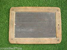 Vintage Chalkboard Tablet Slate Learn to Write Calculate School Student
