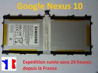 Batterie neuve pour Samsung Galaxy Google Nexus 10   P8110  - réf : SP3496A8H