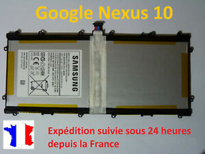 Battery New Samsung Galaxy Google Nexus 10 P8110 - Reference: SP3496A8H