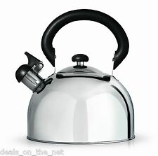 Grunwerg Stove Top Induction Whistling Stainless Steel 1.5L Kettle HTK15