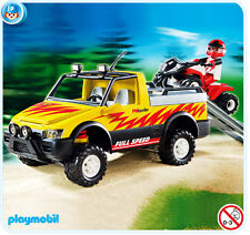 PLAYMOBIL Pick-up mit Racing Quad 4228