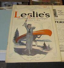 July 30 1914 Leslie's Magazine Call of the Wild Guadalajara Gringos Great Photos