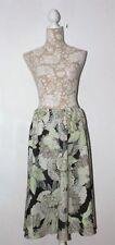 M&S Calf Length Polyester Flippy, Full Skirts for Women
