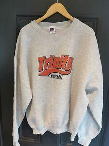 "Vintage  Russell Athletic  "" TRINITY""  Crew Neck Sweatshirt Size  XL"