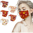 10/50PCS Adults Thanksgiving Day Disposable Face Mask Industrial 3Ply Ear Loop