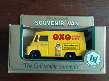 Two vans  with OXO livery - one of which is a Special Edition - FREE POST