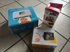 Kodak EasyShare Digital Camera, Cannon Selphy Compact Photo Printer & Paper