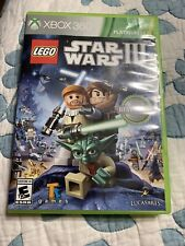 LEGO STAR WARS III: THE CLONE WARS game In Case For Xbox 360
