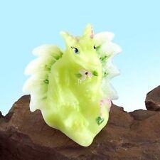 Fenton Dragon Lima the Little Green Dragon Figurine Art Glass NEW in Box