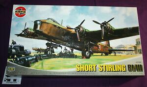 Airfix Short Stirling BI/III 1:72 scale model plane kit A07002.
