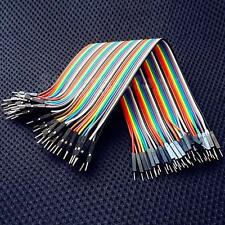 40Pin Dupont wire jumper cable 20cm 2.54MM male to male 1P-1P For Arduino