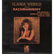 Rachmaninoff / Ilana Vered Lp Vinile Ilana Vered Plays Rachmaninoff Decca Nuovo