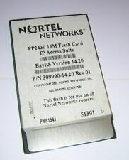Nortel Networks PP2430 16M Flash Card IP Access Suite 14.20 Centennial FL16M-20-
