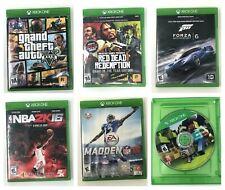 Xbox One Games Pick 1 Gta 5 Madden 16 Minecraft Red Dead Redemption Forza 2K16
