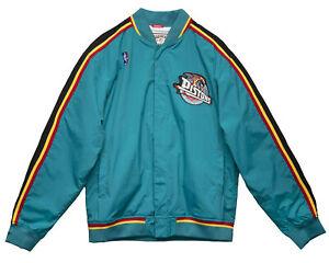 Mitchell & Ness NBA Authentic Detroit Pistons 1997-98 Warm Up Jacket Men's Top