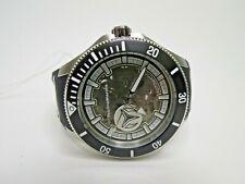 TechnoMarine Cruise Shark Men's Automatic Watch Black Skeleton TM-118019 NH70A