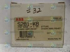 ABB S281-K8 CIRCUIT BREAKER *NEW IN BOX*