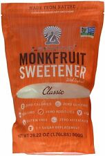 Classic White Sugar Free Sweetener, Lakanto, 800 gram pouch 1 pack