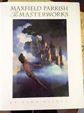 Maxfield Parrish Masterworks art book Alma Gilbert signed 1st ed HC/DJ 1992