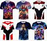 Marvel Avengers: Endgame T-Shirts 3D Print T-Shirts Costume Adult Kids Tops