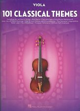 101 CLASSICAL THEMES VIOLA BRAND NEW MUSIC BOOK INCLUDES AVE MARIA,& OTHER HITS