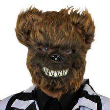 KILLER BEAR MASK HORROR SCARY ANIMAL HALLOWEEN FANCY DRESS COSTUME ACCESSORY