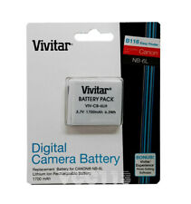 Battery For CANON PowerShot SD770 IS,SD980 IS,SX170 IS,SX260 HSNB-6L/NB-6LH