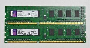 4GB (2x2GB) DDR3 PC3-12800U 1600 MHZ 240 PIN PC RAM DESKTOP MEMORY INTEL AND AMD