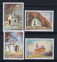 Luxemburg 1991 Mi. 1284-1287 Postfrisch 100% Kapellen, Caritas