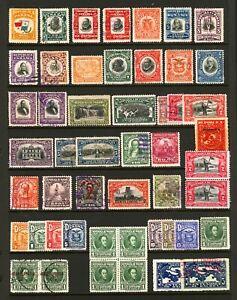 Panama #185 - #261 1906-1932 Assorted Regular & Commemorative Issues Mint & Used