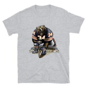 Chicago Bear Graphic Sport T-shirt Unisex Men Women Tee Size S-5XL NA2306