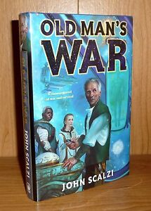 OLD MAN'S WAR  by John Scalzi  HB 1st/2nd and SIGNED! SUPER SCARCE BOOK!