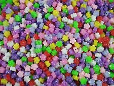 Beads Flowers Mix 25g Jewellery DIY Jewelry Spacer Party Fillers POSTAGE