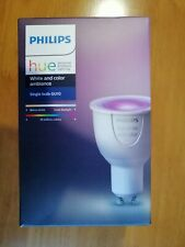 Philips HUE White and Color ambiance Single bulb GU10 Smart Bulb
