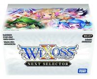TAKARA TOMY  Wixoss TGC WX-07 booster pack next selector BOX 20pack