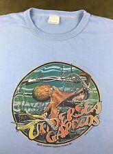 Vintage Mens XL 80s Pacific Undersea Gardens Victoria British Columbia T-Shirt