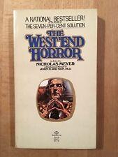 Sherlock Holmes - The West End Horror - Ballantine Books - 1977 - TBE