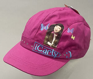 iCarly Girls Pink Hat Cap (2009 Nickelodeon) New with Tags!