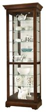 Howard Miller 680-658 Chesterbrook - Traditional Cherry Curio Cabinet 6800658