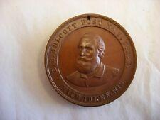 Antique Vtg GAR Civil War E. B. Wolcott Post No. 1 Milwaukee WI Medal 1890's