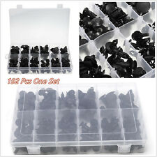 192 x Pinzas de nylon Universal Coche Offroad Push Pin Retenedor Surtido Kit 12 Tamaño