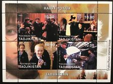 Harry Potter & Friends Stamp Sheet 01 Faux Issue Fantasy Wizard Magic Witchcraft