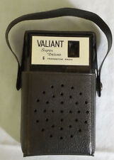 Valiant Super Deluxe 6 Transistor Pocketable Radio w/ case