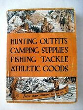 "Vintage 1912 ""New York Sporting Goods Co."" Catalog w/ Pictures & Prices *"