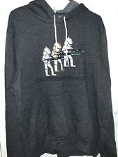 ADULTS GILDAN STAR WARS CHEWIE WERE HOME  XMAS FILM TV  HOODIE SIZES S-XL