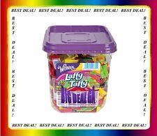 Nestle Wonka Laffy Taffy Assorted Flavors Bite Size 145ct - 3lb tub